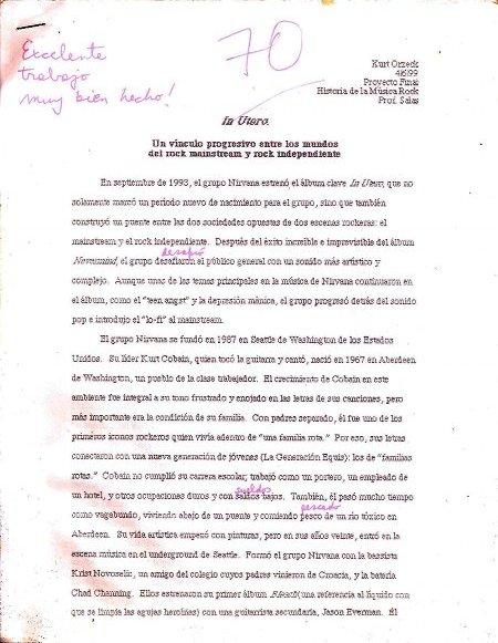 Help me, im doing a essay on nirvana?
