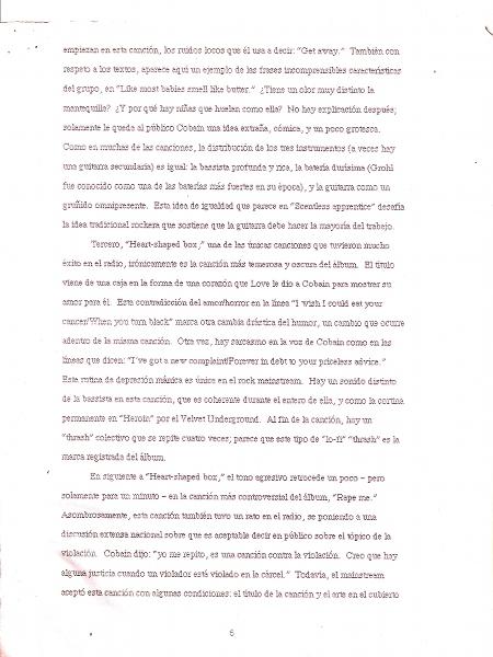 6 page essay