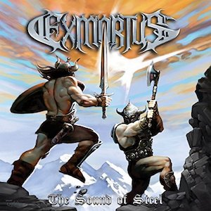 Exmortus album cover - Sound of Steel
